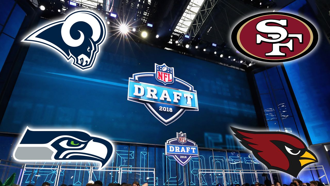 Die Draft Needs der vier Teams aus der NFC West - Bildquelle: Getty