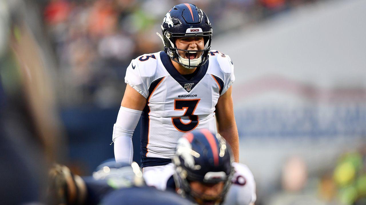 Drew Lock (Denver Broncos) - Bildquelle: 2019 Getty Images