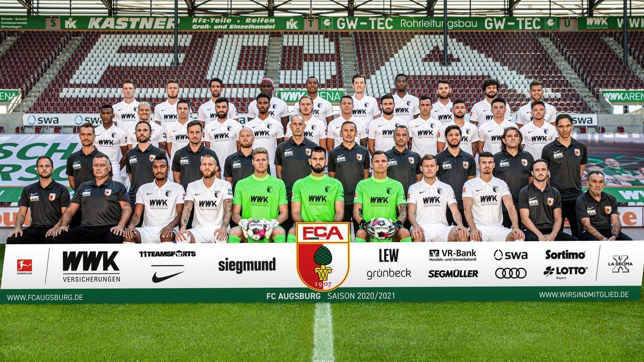 Platz 16: FC Augsburg - Bildquelle: 2020 Handout