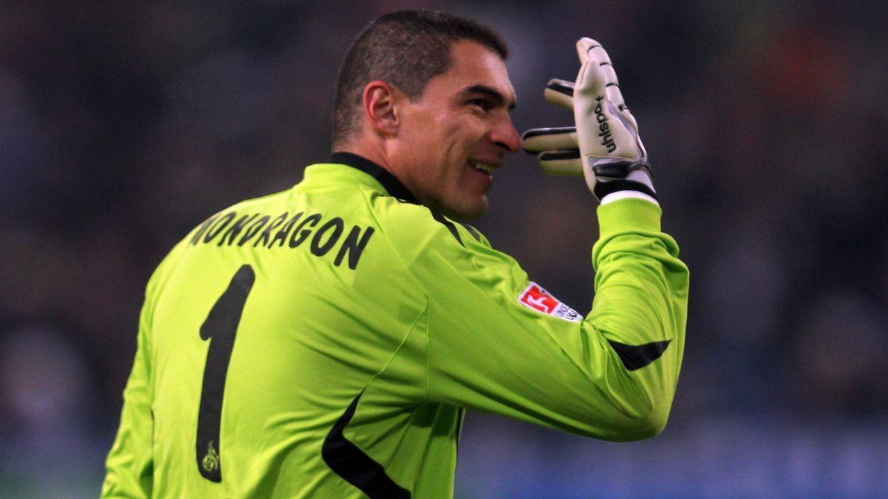 Faryd Mondragon (1. FC Köln) - Bildquelle: Getty