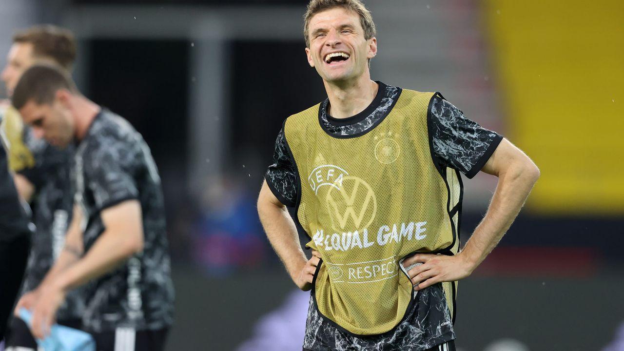 Müller sorgt für gute Stimmung - Bildquelle: 2021 Getty Images