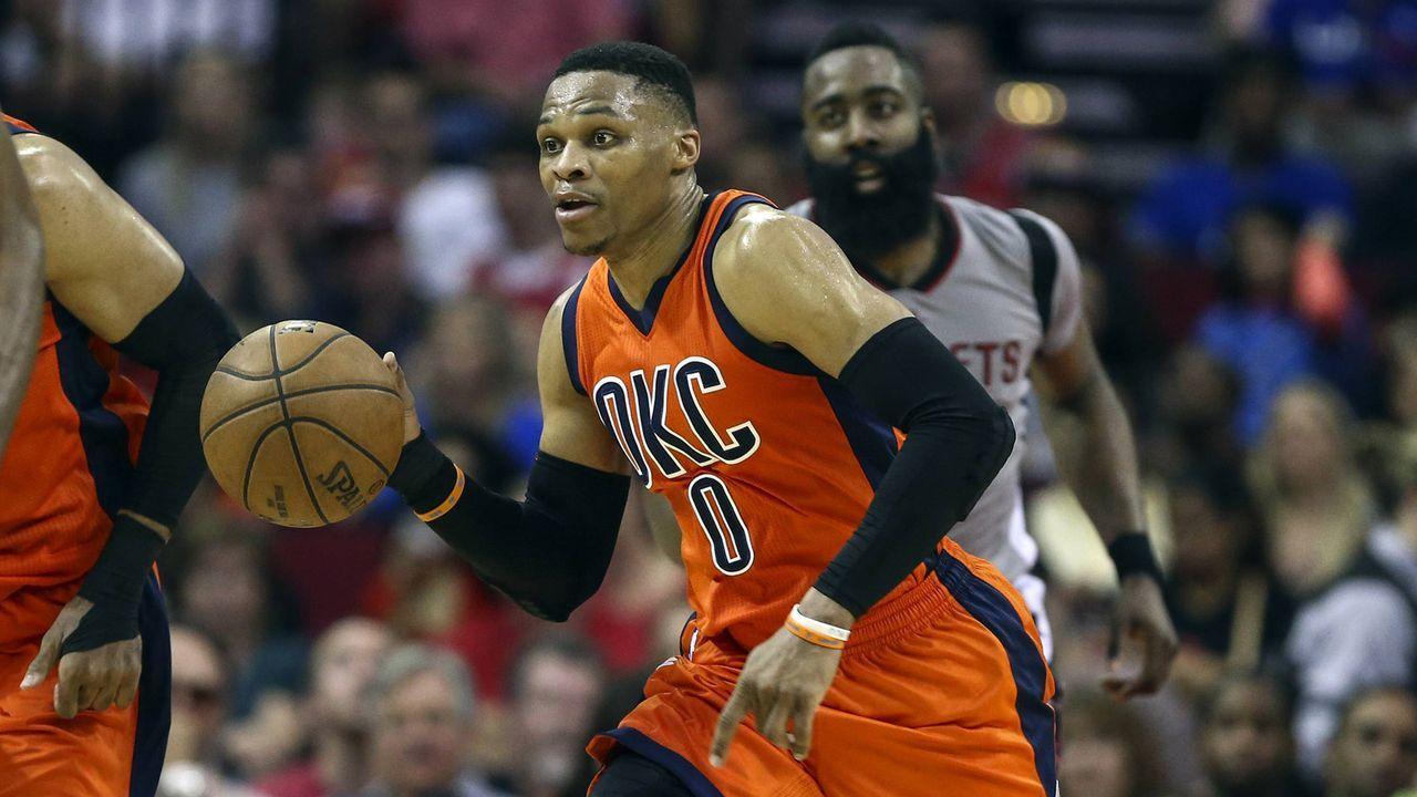 Westbrook kehrt nach Oklahoma City zurück - Bildquelle: imago