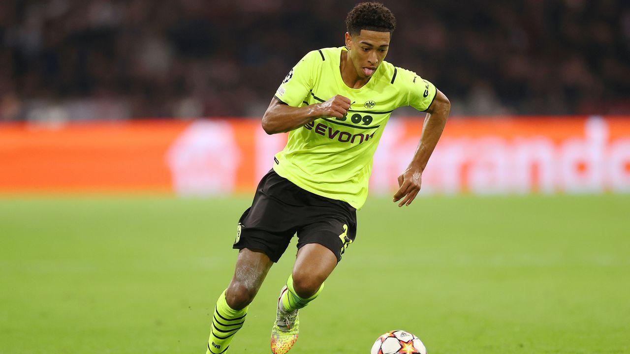 Jude Bellingham (Borussia Dortmund) - Bildquelle: 2021 Getty Images