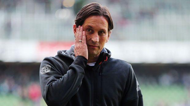 Roger Schmidt (Bayer Leverkusen) - Bildquelle: 2015 Getty Images