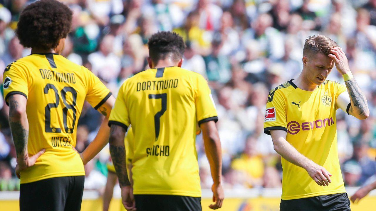Aber die BVB-Stars tun sich lange schwer! - Bildquelle: imago images / Eibner