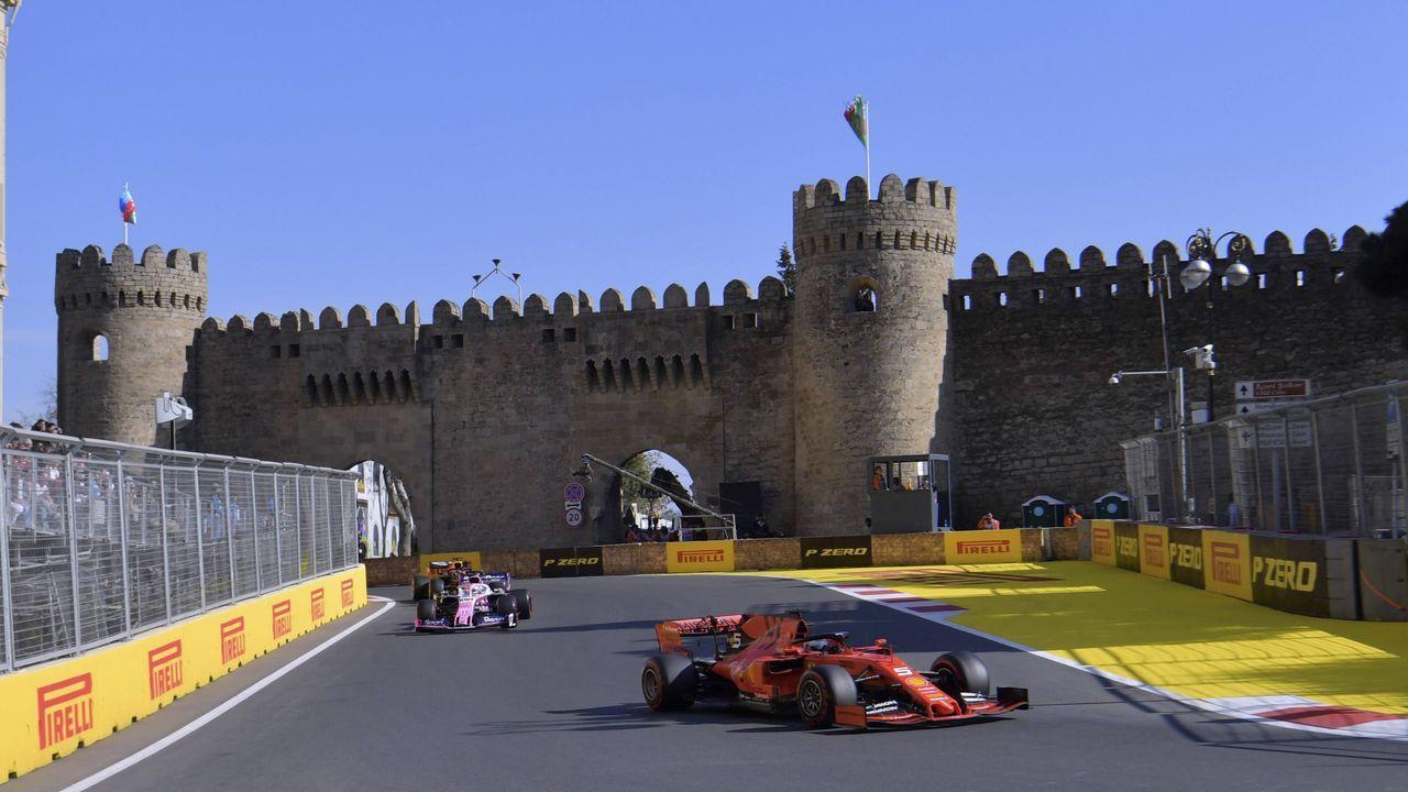 Baku City Circuit (Aserbaidschan) - Bildquelle: imago