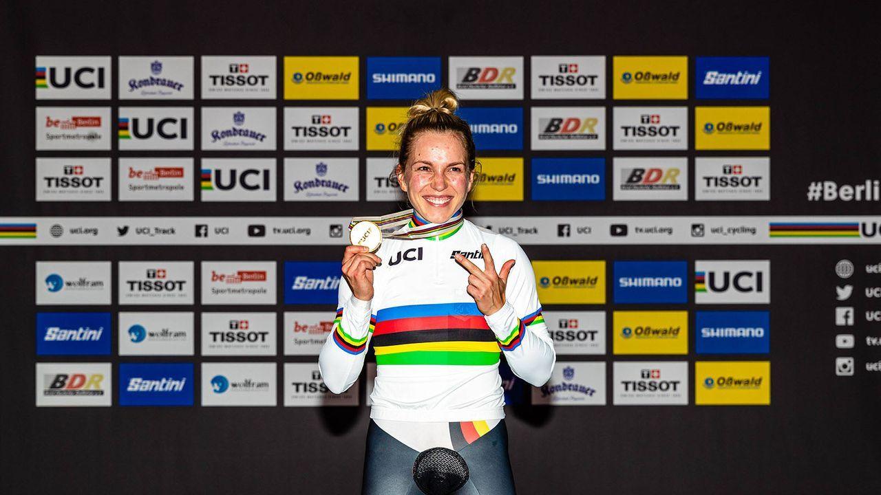 Emma Hinze (Rad) - Bildquelle: imago images/Eibner