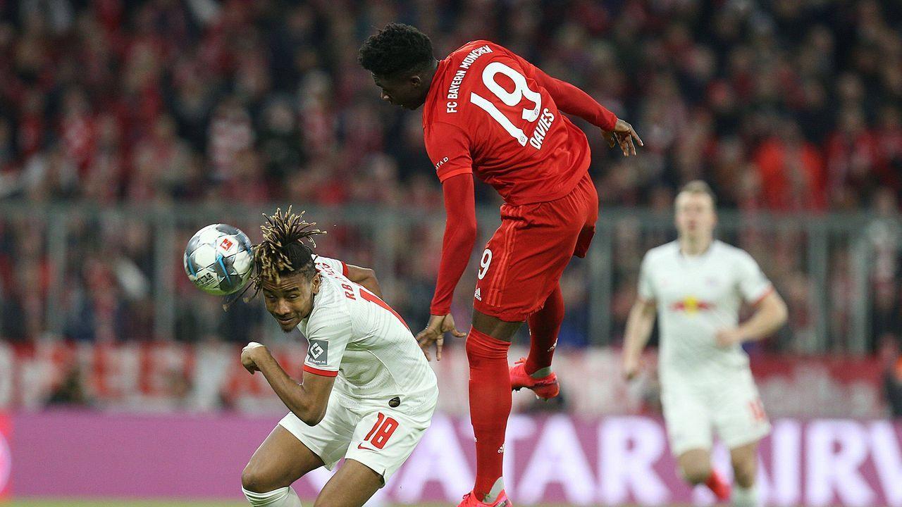 Alphonso Davies (Bayern München) - Bildquelle: imago
