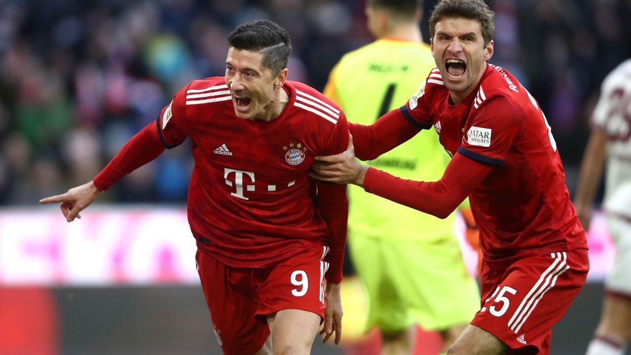 Beste aktive Torschützen: Lewandowski und Müller in Jägerrolle - Bildquelle: 2018 Getty Images