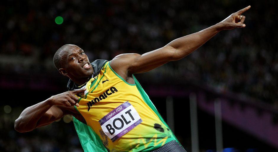Usain Bolt im Medaillen-Wahn - Bildquelle: 2012 Getty Images