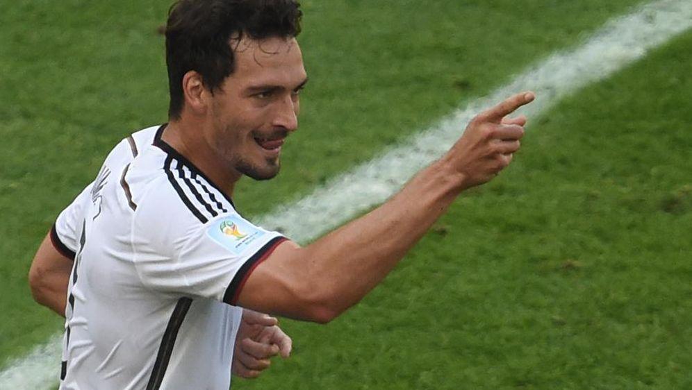 Matchwinner Mats Hummels köpft DFB-Auswahl ins Halbfinale - Bildquelle: SID-SID-AFPCHRISTOPHE SIMON