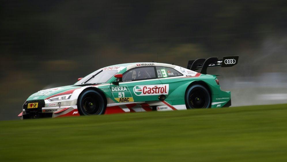 Audi dominiert: Frijns auf Pole, Müller (Foto) dahinter - Bildquelle: AFPSIDERWIN SCHERIAU