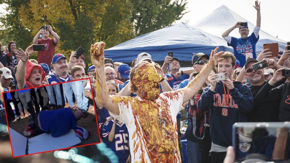 Tailgate-Partys in Buffalo laufen häufig aus dem Ruder - Bildquelle: imago/youtube