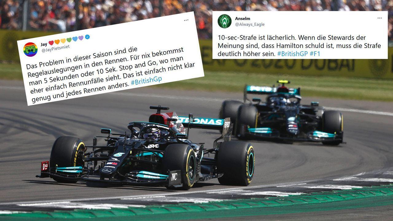 Strafe für Hamilton - Bildquelle: imago images/Motorsport Images