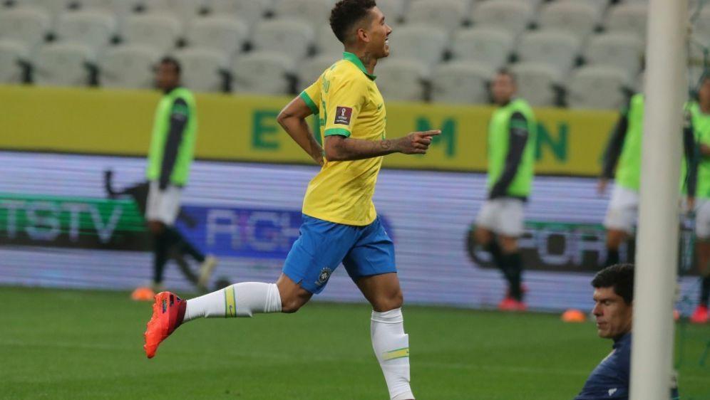 Zwei Tore für Brasilien: Roberto Firmino - Bildquelle: POOLPOOLSIDAMANDA PEROBELLI