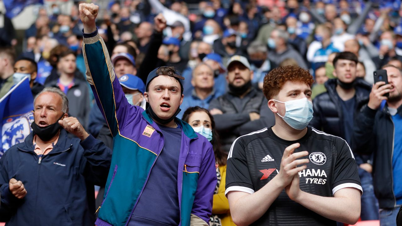 Chelseas Fans zunächst siegessicher - Bildquelle: 2021 Getty Images