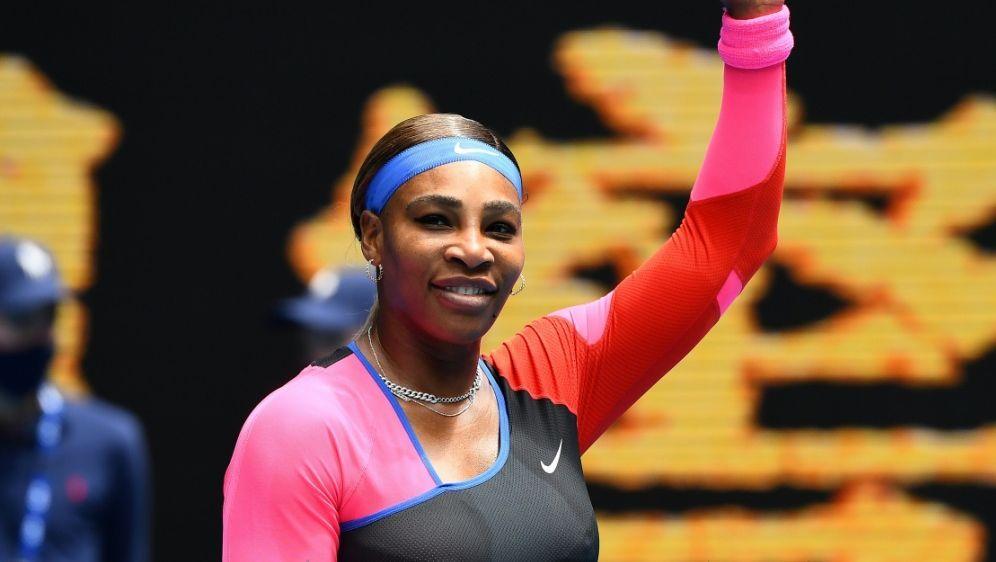 Serena Williams in der dritten Runde der Australian Open - Bildquelle: AFPSIDWilliam WEST