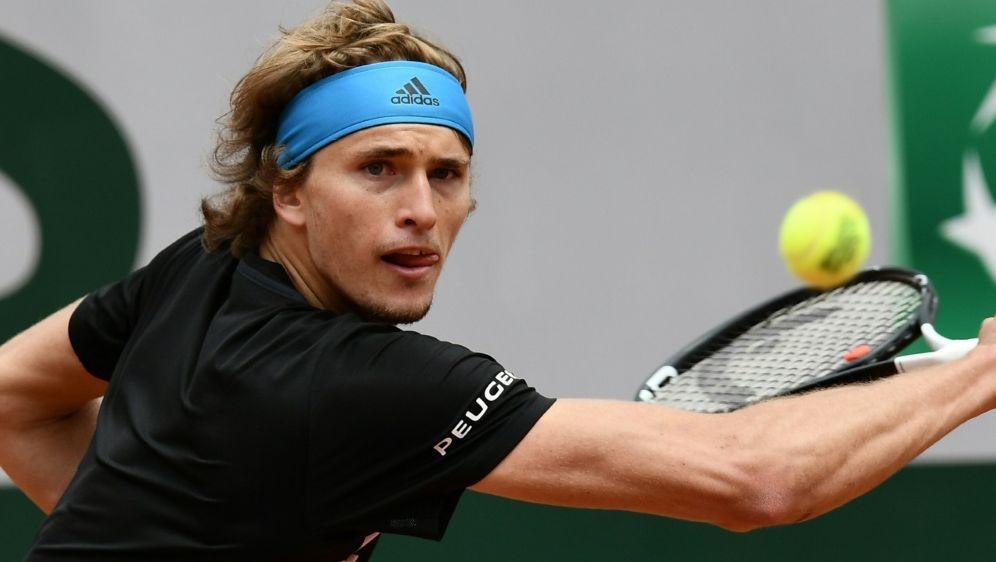 Zverev steht in der zweiten Runde der French Open - Bildquelle: AFPSIDPHILIPPE LOPEZ