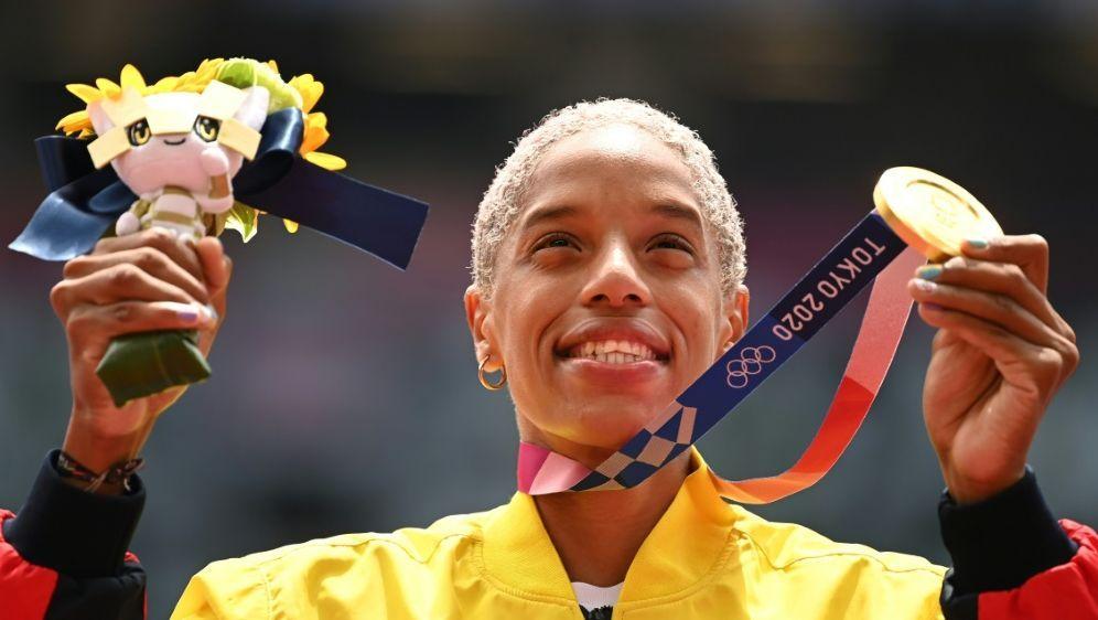 Rojas gewinnt Gold mit Fabelweltrekord - Bildquelle: AFPSIDIna FASSBENDER