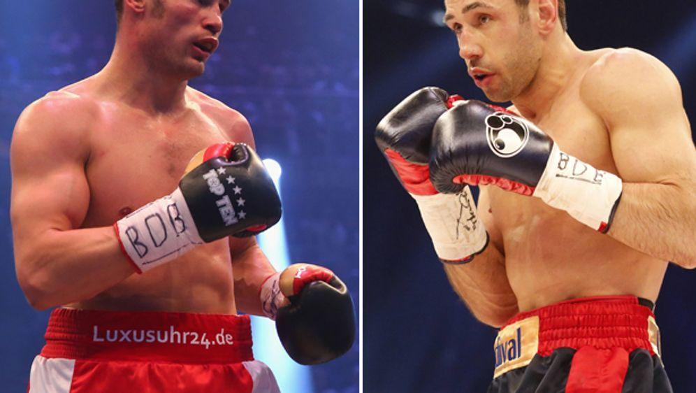 Am 8. November treffen sich zum ran-Superfight Robert Stieglitz und Felix St... - Bildquelle: getty/imago