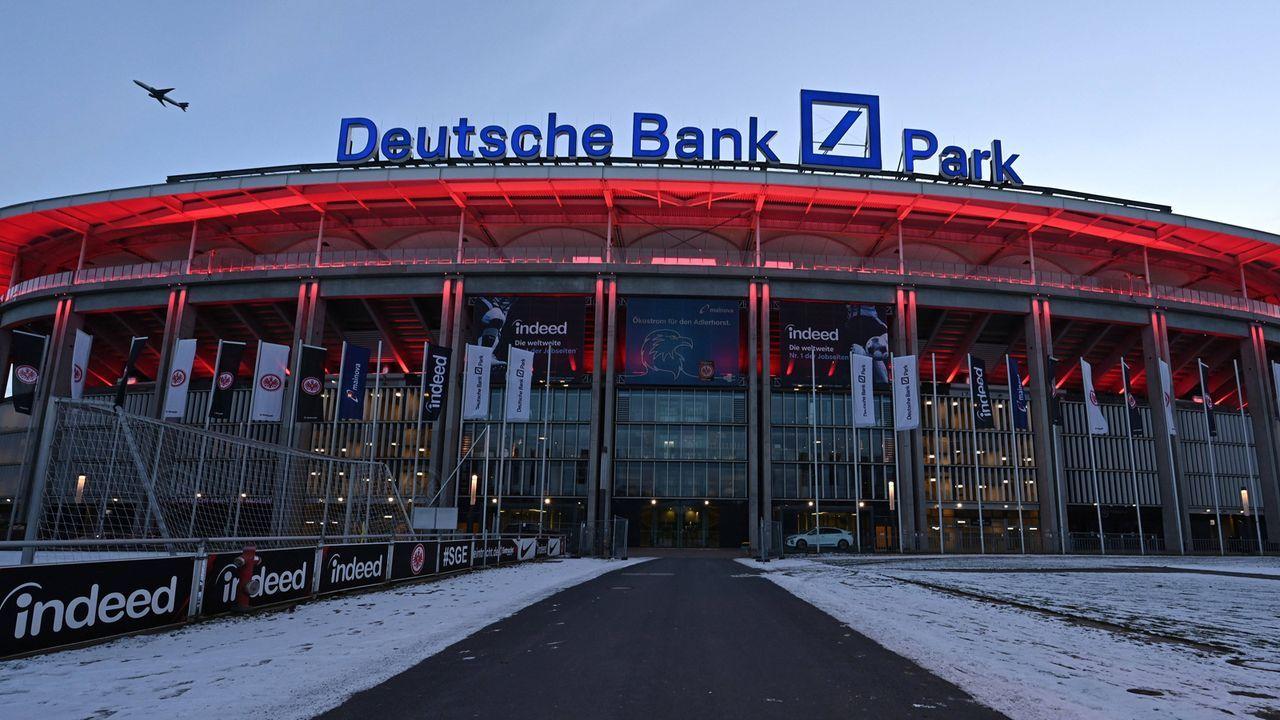 Deutsche Bank Park in Frankfurt  - Bildquelle: imago images/HJS