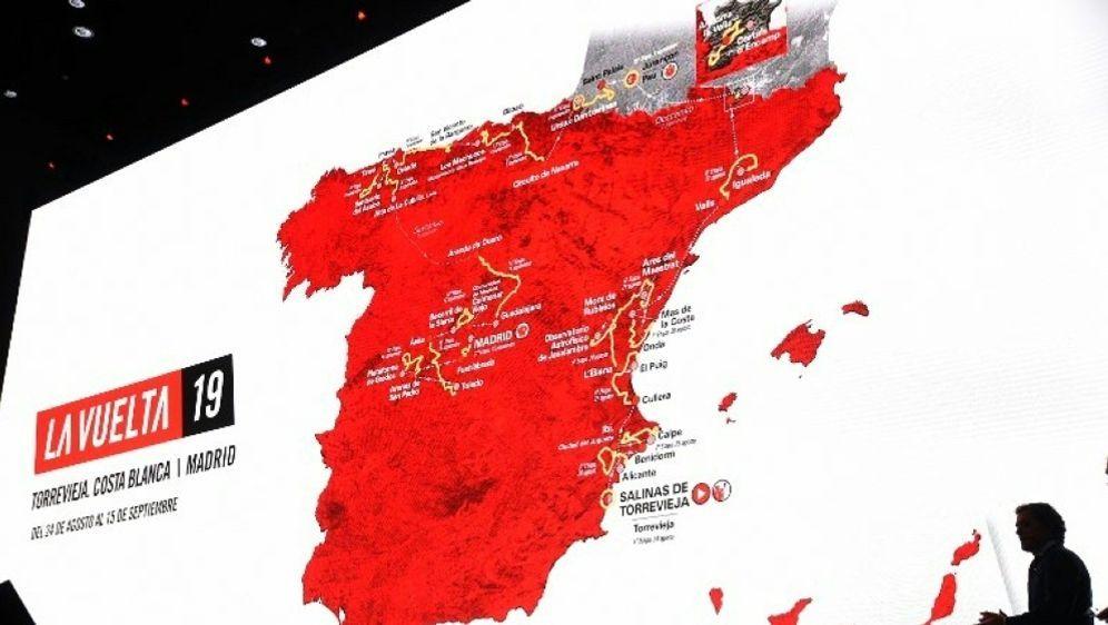2019 endet die Spanien-Rundfahrt erneut in Madrid - Bildquelle: AFPSIDJOSE JORDAN