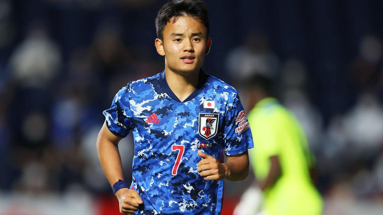 Takefusa Kubo (20 Jahre, Japan, Real Madrid) - Bildquelle: imago images/AFLOSPORT