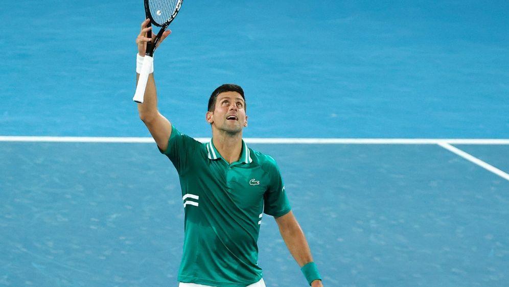 Novak Djokovic ist der neue Rekordhalter - Bildquelle: AFPSIDDAVID GRAY