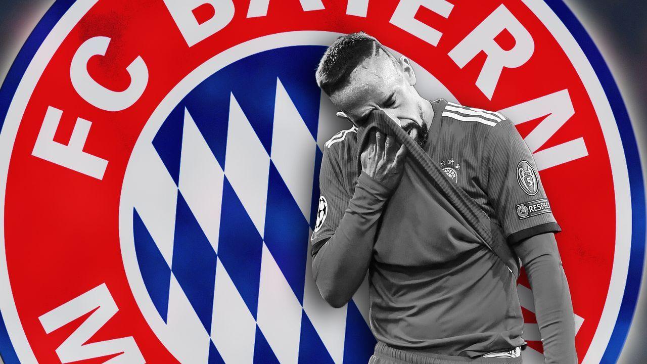 Ribery und seine Ausraster - Bildquelle: Getty Images