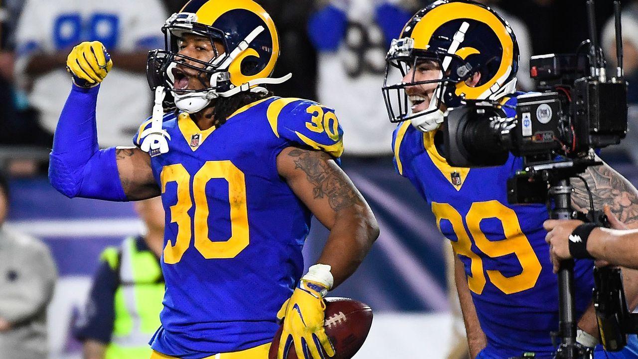 Platz 2: Los Angeles Rams (14-3 - letzte Woche Platz 2) - Bildquelle: 2019 Getty Images
