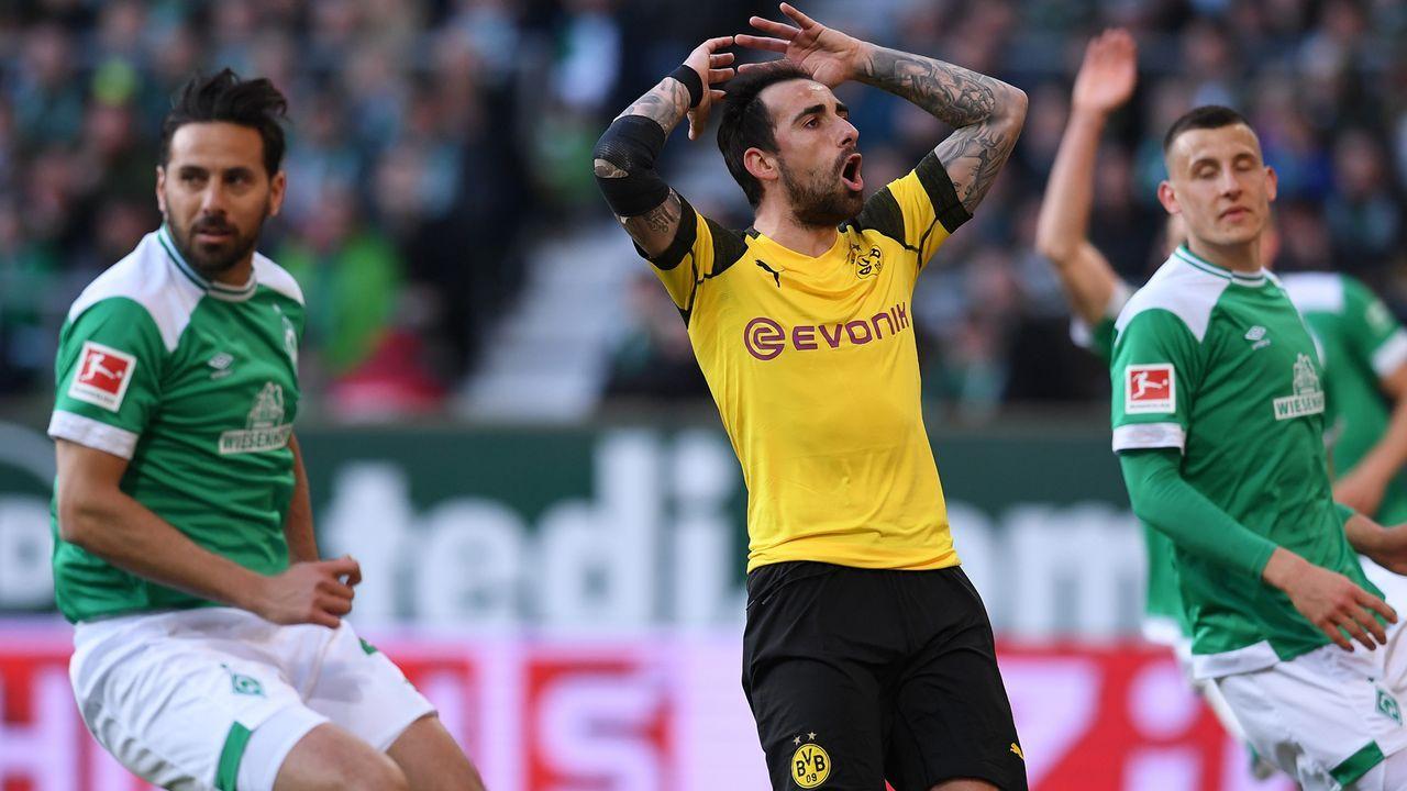 BVB verspielt Sieg gegen Bremen
