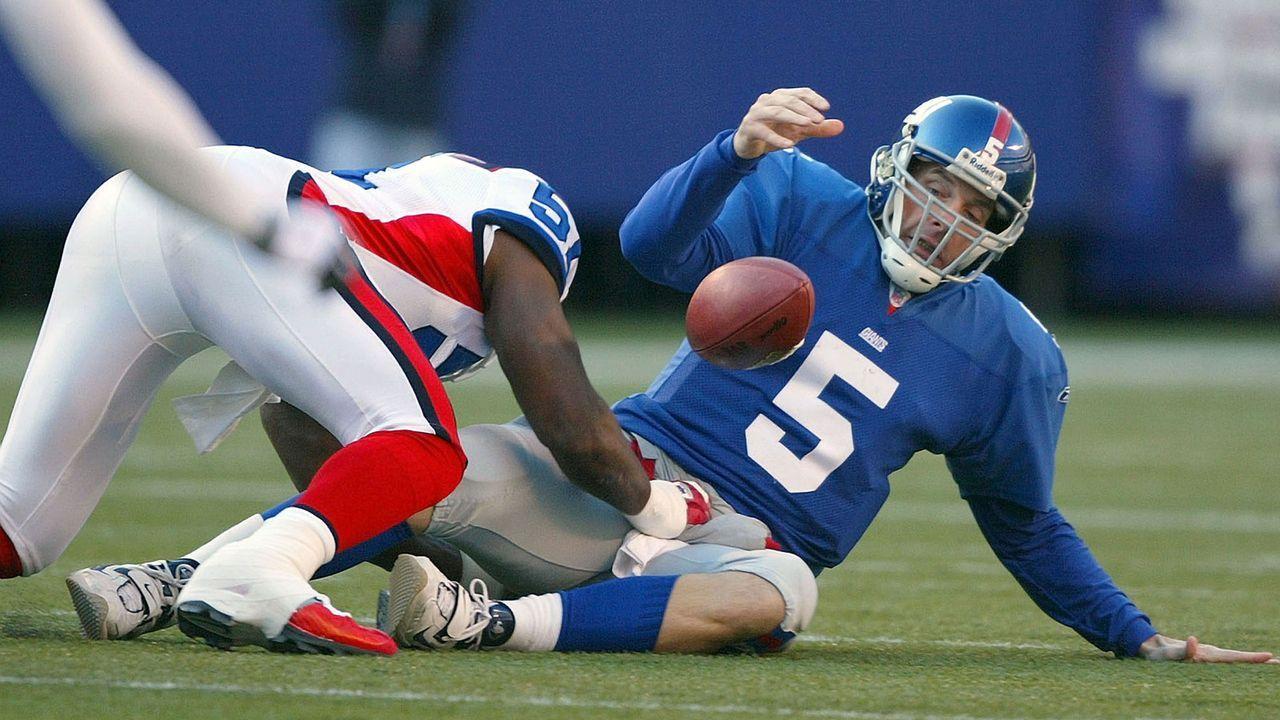 Die meisten Fumbles in einer Saison - Bildquelle: 2003 Getty Images
