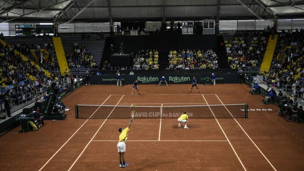 Finalrunde des Davis-Cup diese Saison in drei Städten - Bildquelle: AFPSIDJUAN BARRETO