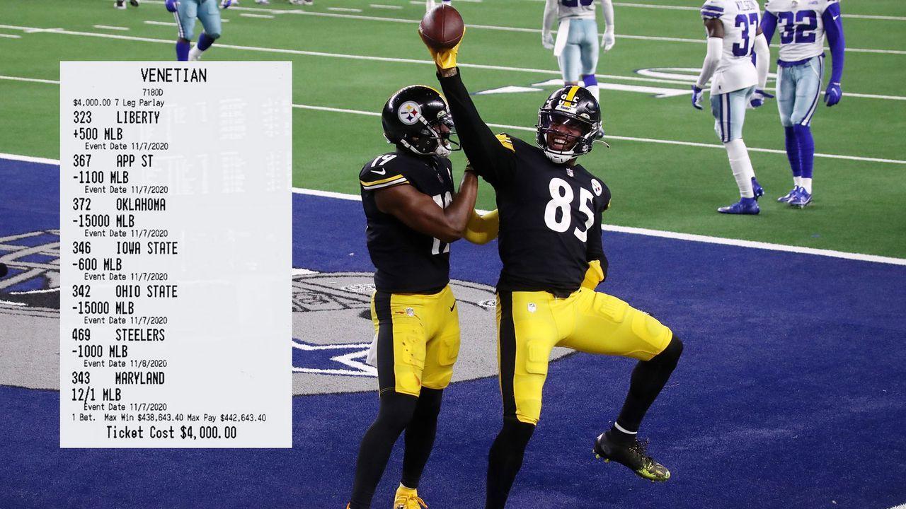 Zittern wird belohnt: Steelers-Sieg beschert Zocker riesigen Gewinn - Bildquelle: Getty Images/twitter.com/WilliamHillUS