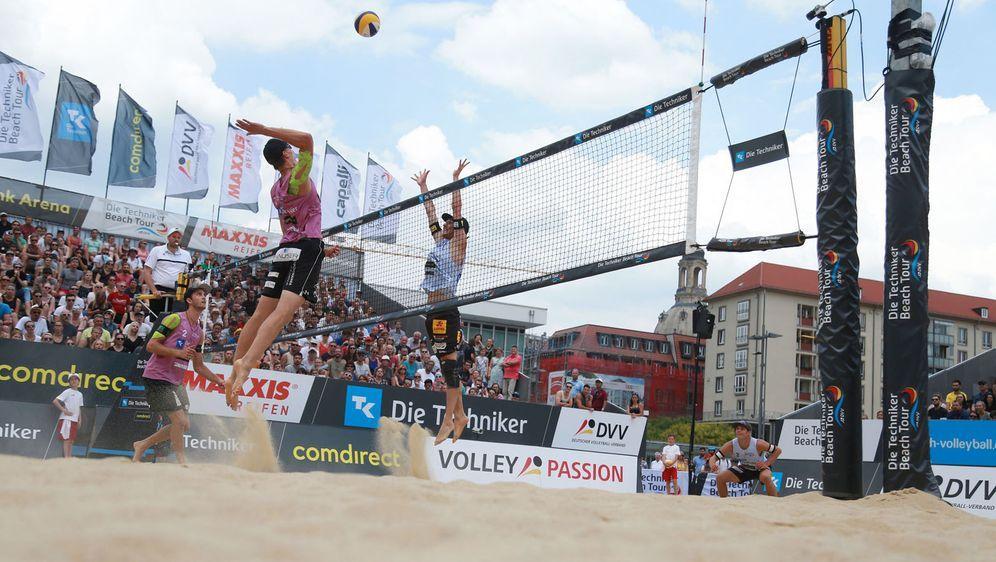 In Dresden steigt an diesem Wochenende das vierte Turnier der Techniker Beac... - Bildquelle: Hoch Zwei/Michael Kunkel