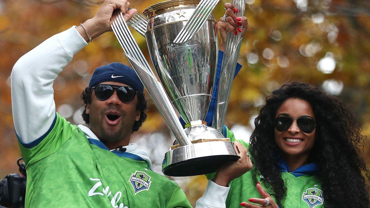 Fremdgehen auf der Siegerparade der Sounders - Bildquelle: Getty Images