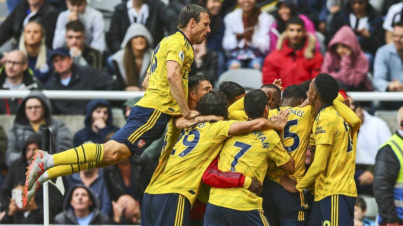 Platz 9: FC Arsenal - Bildquelle: imago images / Action Plus