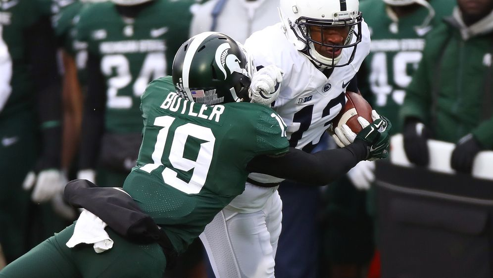 Die Nummer 19 der Michigan State University in Aktion: Josh Butler - Bildquelle: 2017 Getty Images