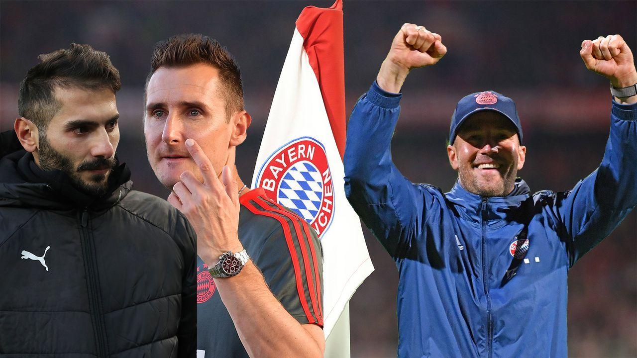 Legenden-Versammlung: Die Jugendtrainer des FC Bayern - Bildquelle: Imago/Getty Images