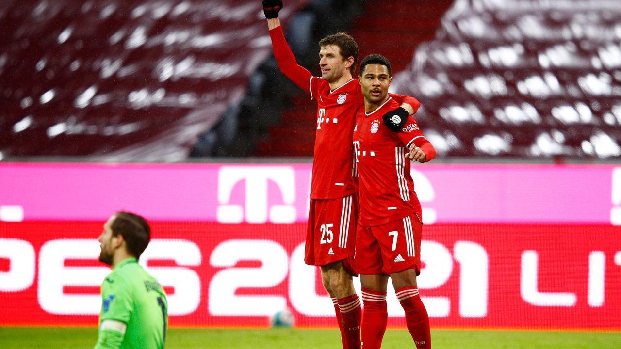 Die Tordifferenz spricht für Bayern - Bildquelle: 2021 Getty Images