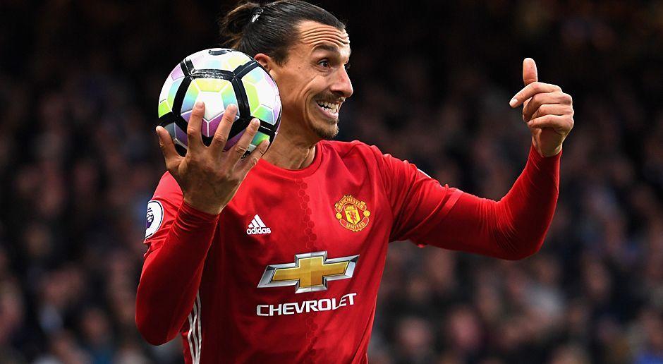 Zlatan Ibrahimovic (Schweden, Manchester United) - Bildquelle: 2016 Getty Images