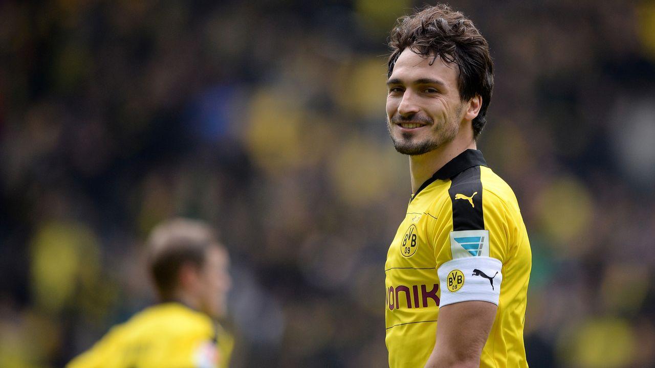 Mats Hummels (Borussia Dortmund) - Bildquelle: 2016 Getty Images