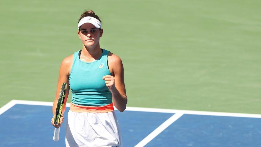 Kerber-Bezwingerin Jennifer Brady steht im Halbfinale - Bildquelle: AFPGETTY SIDAL BELLO