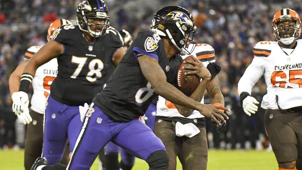 Ravens gegen Browns: Wegweisendes Spiel. - Bildquelle: imago/Icon SMI