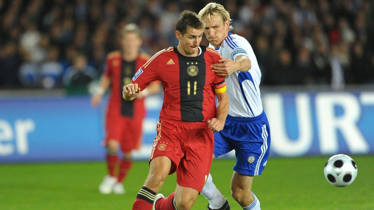 DFB-Team entgeht Debakel in WM-Qualifikation in Finnland - Bildquelle: 2008 Getty Images