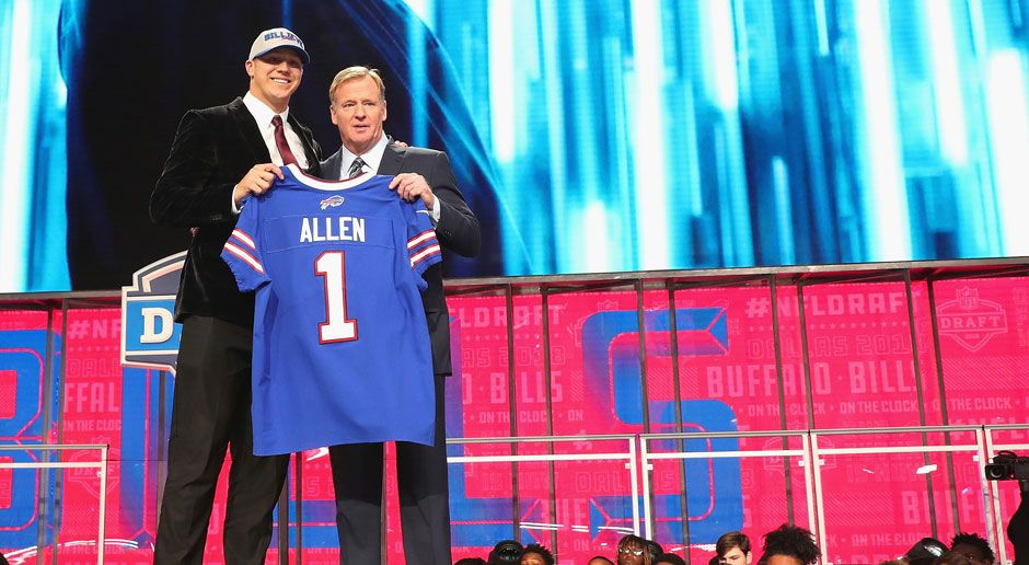 7. Josh Allen (Quarterback, Buffalo Bills)  - Bildquelle: 2018 Getty Images