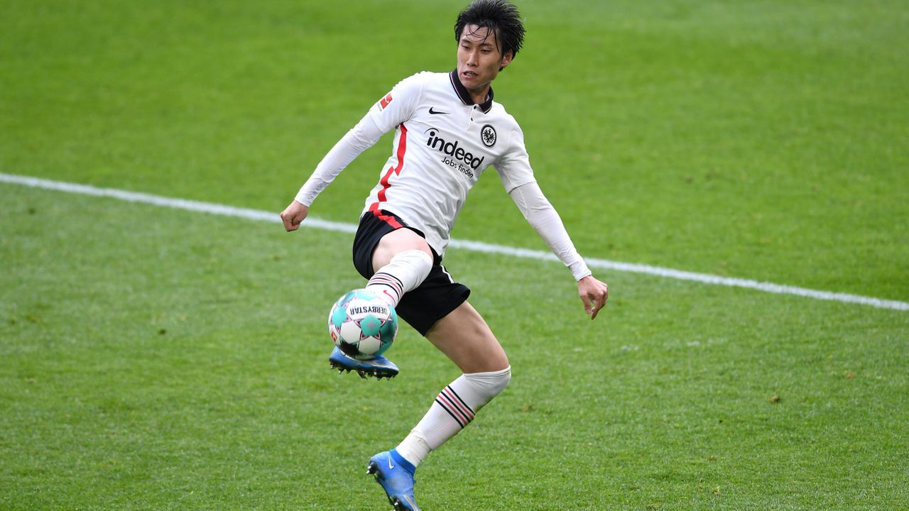 Platz 4: Daichi Kamada (Eintracht Frankfurt) - Bildquelle: Imago