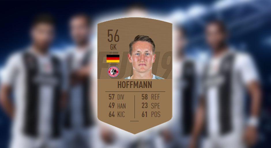 Schlechtester Bundesliga-Torwart Ron-Thorben Hoffmann - Bildquelle: EA Sports