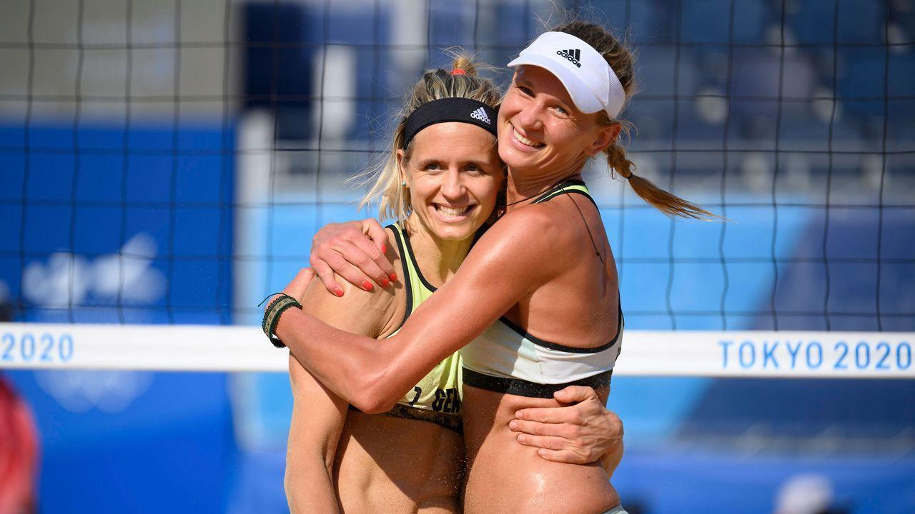 Laura Ludwig und Maggie Kozuch (Beachvolleyball)  - Bildquelle: imago images/Sven Simon