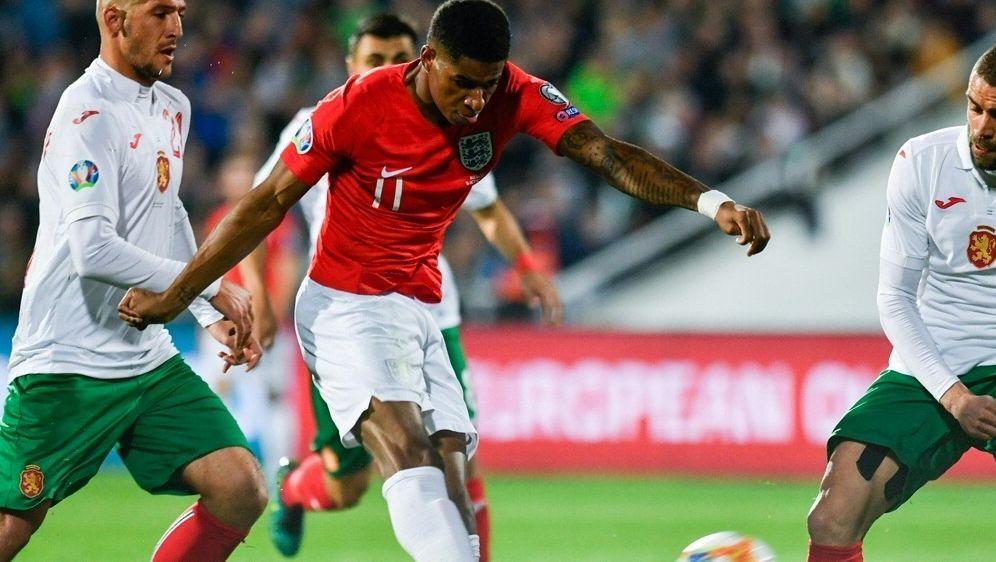 Englands Spieler wurden in Sofia mit Affenlauten bedacht - Bildquelle: AFPSIDNIKOLAY DOYCHINOV